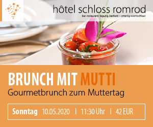 Brunch mit Mutti - Muttertagsbrunch - 10.05.2020